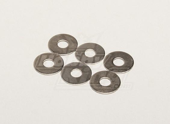 Flat Washer 19x1x6mm (6 stuks / zak) - Turnigy Titan 1/5