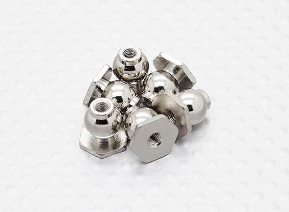 8mm Hexagon Ball End (6 stuks) - A2038 en A3015