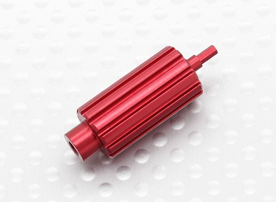 Aluminium Upgrade Scroll Wheel Roller voor Spektrum DX Series Zenders (Rood)