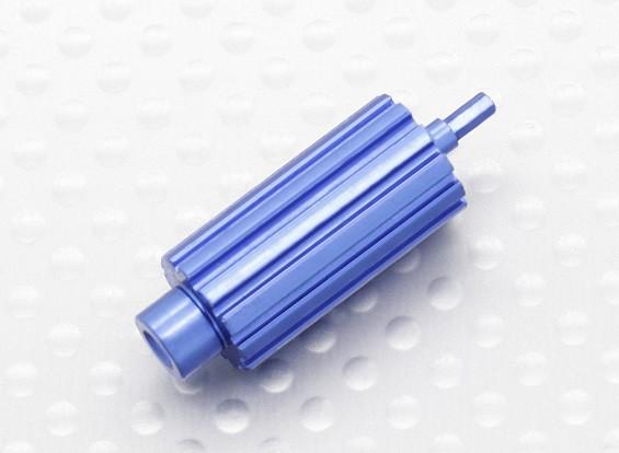 Aluminium Upgrade Scroll Wheel Roller voor Spektrum DX Series Zenders (blauw)