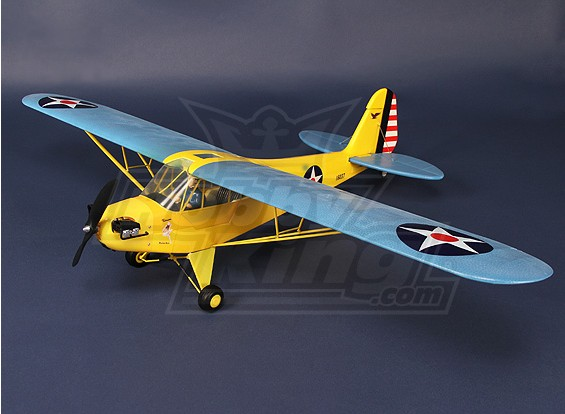 HobbyKing® ™ J3 Cub - Plug and Fly (blauw)