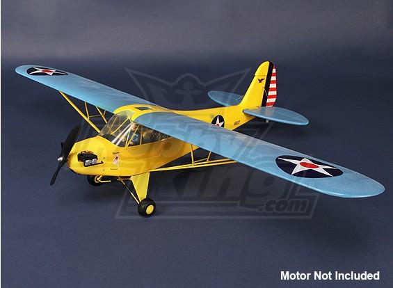 HobbyKing J3 Cub - KIT (geel / blauw)