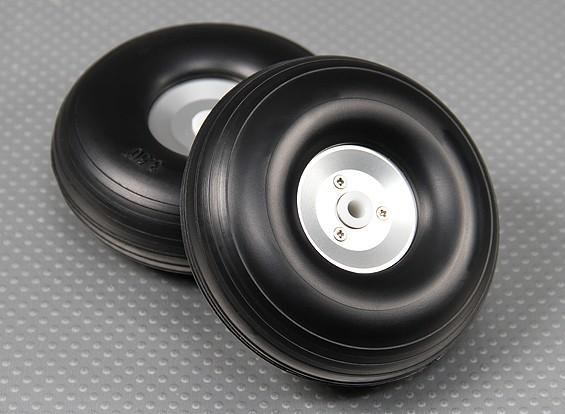 90mm (3,5 inch) lichtmetalen Schaal Wheel Assembly (2pc)