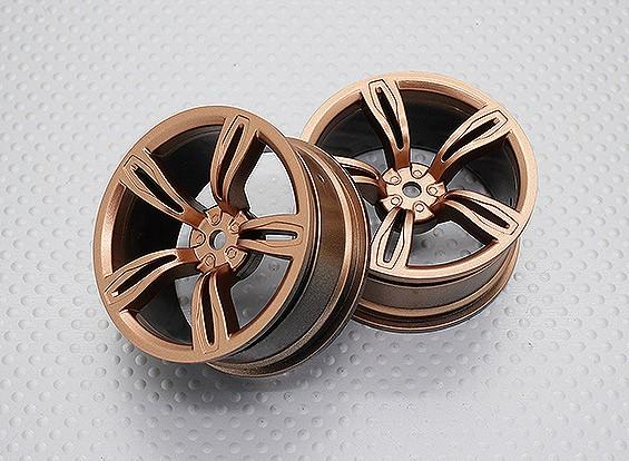 01:10 Scale High Quality Touring / Drift Wheels RC Car 12mm Hex (2pc) CR-M5G