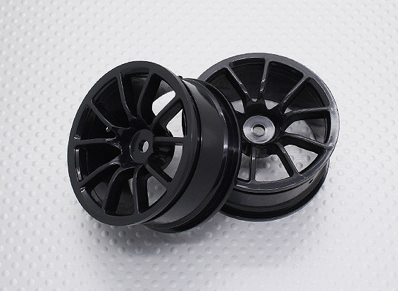 01:10 Scale High Quality Touring / Drift Wheels RC Car 12mm Hex (2pc) CR-12CNB