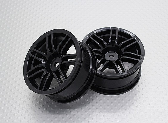 01:10 Scale High Quality Touring / Drift Wheels RC Car 12mm Hex (2pc) CR-RS4NB