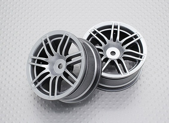 01:10 Scale High Quality Touring / Drift Wheels RC Car 12mm Hex (2pc) CR-RS4S