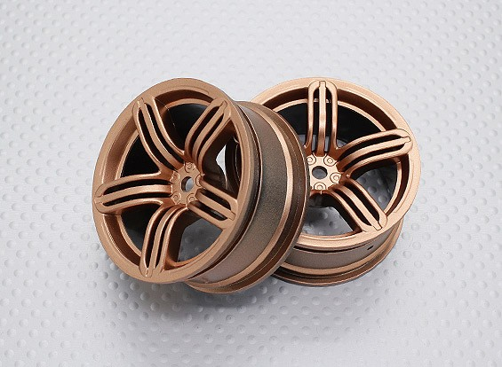 01:10 Scale High Quality Touring / Drift Wheels RC Car 12mm Hex (2pc) CR-RS6G