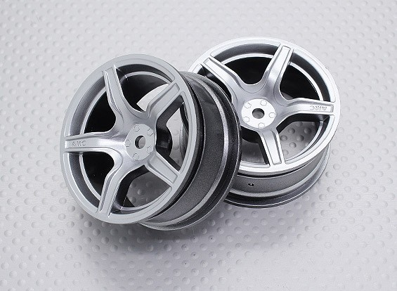 01:10 Scale High Quality Touring / Drift Wheels RC Car 12mm Hex (2pc) CR-C63S