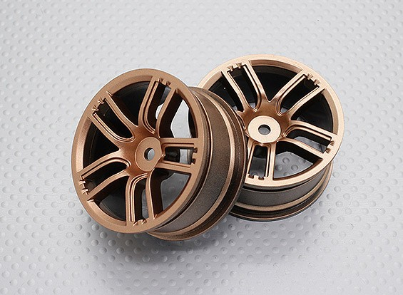01:10 Scale High Quality Touring / Drift Wheels RC Car 12mm Hex (2pc) CR-GTG