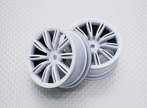01:10 Scale High Quality Touring / Drift Wheels RC Car 12mm Hex (2pc) CR-VIRAGEW