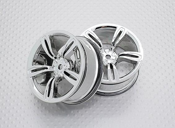 01:10 Scale High Quality Touring / Drift Wheels RC Car 12mm Hex (2pc) CR-M5C