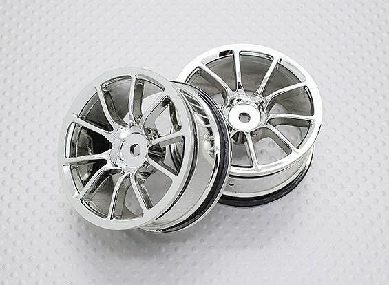 01:10 Scale High Quality Touring / Drift Wheels RC Car 12mm Hex (2pc) CR-12cc