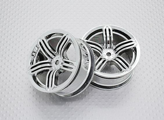 01:10 Scale High Quality Touring / Drift Wheels RC Car 12mm Hex (2pc) CR-RS6C