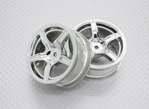 01:10 Scale High Quality Touring / Drift Wheels RC Car 12mm Hex (2pc) CR-C63C