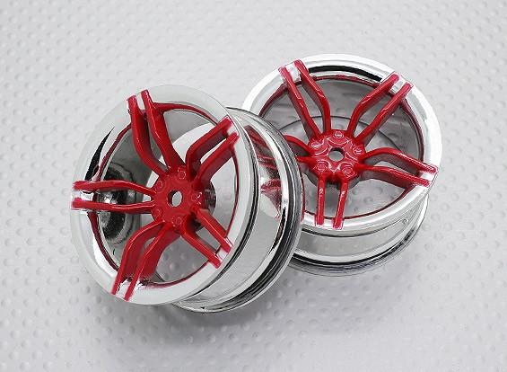01:10 Scale High Quality Touring / Drift Wheels RC Car 12mm Hex (2pc) CR-FFR