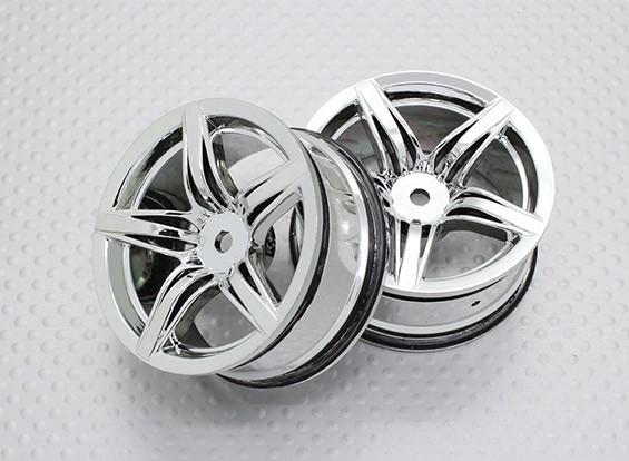 01:10 Scale High Quality Touring / Drift Wheels RC Car 12mm Hex (2pc) CR-F12C
