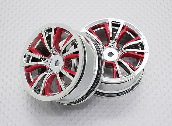 01:10 Scale High Quality Touring / Drift Wheels RC Car 12mm Hex (2pc) CR-BRR