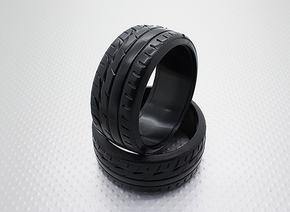 01:10 Schaal Hard Plastic Compound CR-F1 Drift Tires (2 stuks)