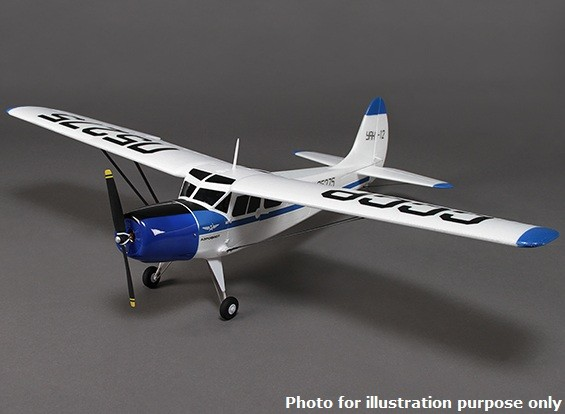 YAK 12 Airplane EPO 950mm w / Kleppen (ARF)