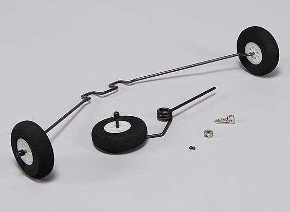 Hobbyking Club Trainer 1265mm - Vervangende Landing Gear Set