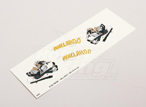 """Nose Art - """"Wallaroo"""" (L / R-zijdig)"""