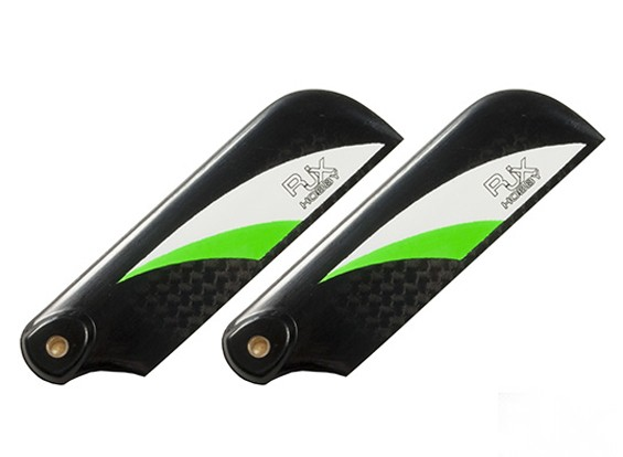 70mm Hoge kwaliteit Carbon Fiber Tail Blades