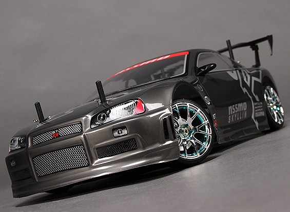 10/01 HobbyKing® Mission-D 4WD GTR Drift Car (ARR)