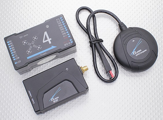 ZeroUAV YS-X4 Autopilot GPS Flight Control System for Multi-Rotor (Wi-Fi-versie)