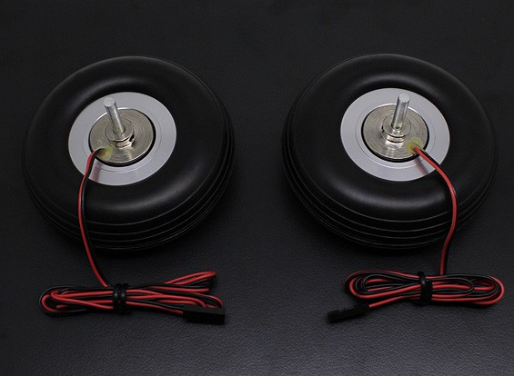 "Turnigy Electric Magnetic Brake System 80mm (3,0 "") Wheel (2pc)"