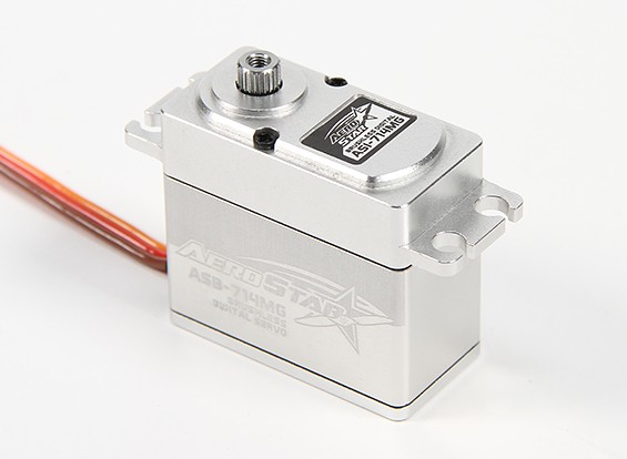 Aerostar ™ ASB-714MG borstelloze Digital Metal Gear Servo 14.07kg / 0.1sec / 70.1g