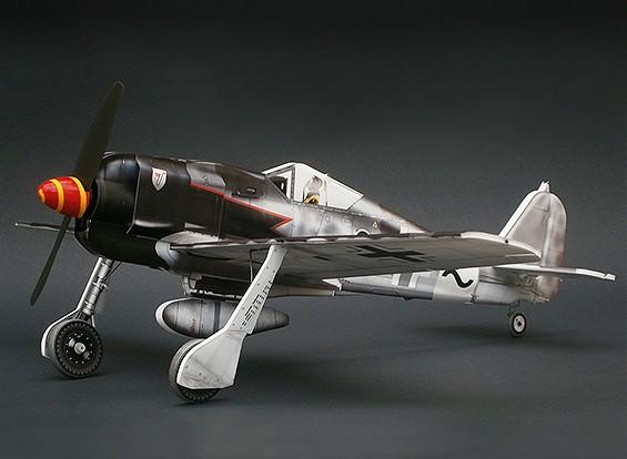 MicroAces Focke Wulf 190 Micro Airplane Depron Standard Kit (zwart 8)