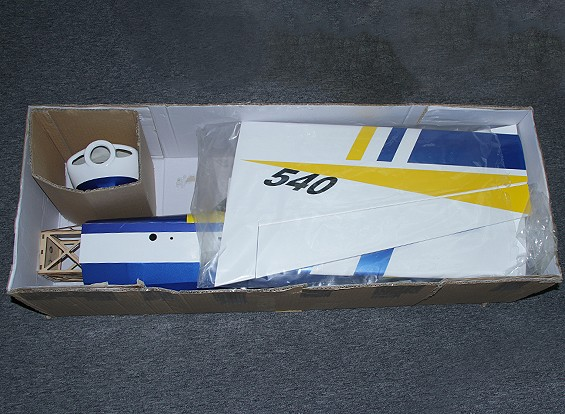 KRAS / DENT Edge 540 3D Electric 1397mm Balsa / Ply (ARF)