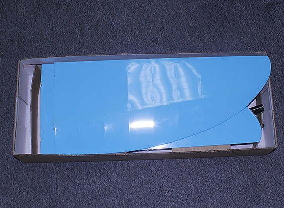 KRAS / DENT Butterfly Pod en Boom V-Tail Glider Opgebouwd Wing 1140mm (ARF)