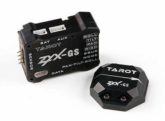 Tarot ZYX-GS Camera Gimbal Stabilisatie System 3-assige gyro / Accelerometer