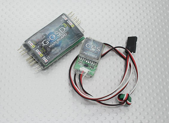 Hobbyking G-OSD 3 Mini OSD System w / GPS Module