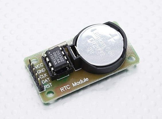 Kingduino Compatible DS1302 Real Time Clock module met Battery