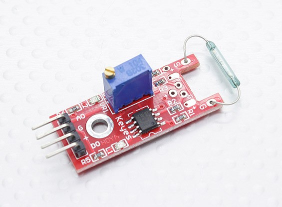 Kingduino Compatible Magnetic Reed Switch Module