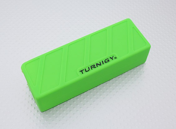 Turnigy zachte siliconen Lipo Battery Protector (1600-2200mAh 3S Groen) 110x35x25mm