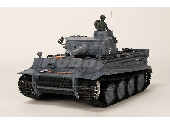 Duitse Tiger I RC Tank RTR w / Airsoft / Smoke & Tx (UK Plug)