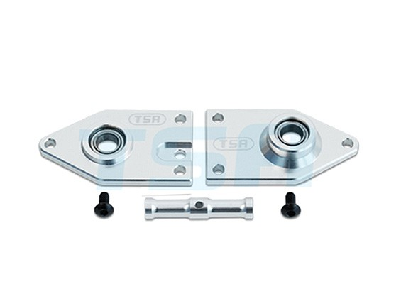TSA Infusion 700E PRO, 700N PRO - Tail Gearbox Side Plate (metaal)