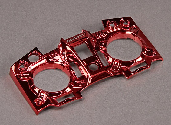 Turnigy 9XR Zender Custom Cover - Metallic Red