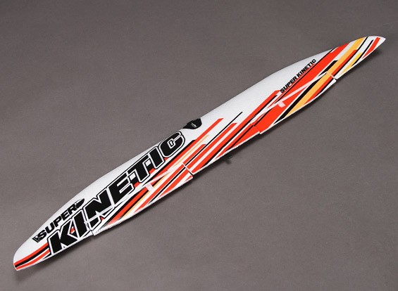 Super Kinetic - Vervanging Main Wing (met plastic onderdelen en Sticker)