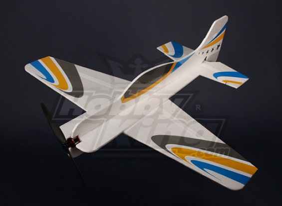 Super 3D flatform EPO R / C Vliegtuig w / ESC en borstelloze motor