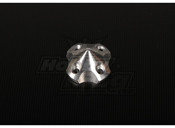 3DSpinner voor HP-50 / DLE55 / DA50 / JC51 (41x41x26mm) Silver