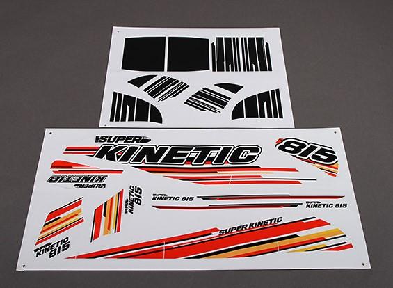 Super Kinetic - Vervanging Decals (2pcs / set)