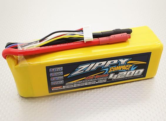 Pack ZIPPY Compact 4200mAh 5S 25C Lipo