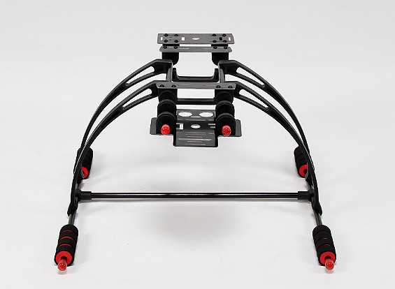 Multifunctionele Care-Gratis Crab FPV Landing Gear Set (Black)
