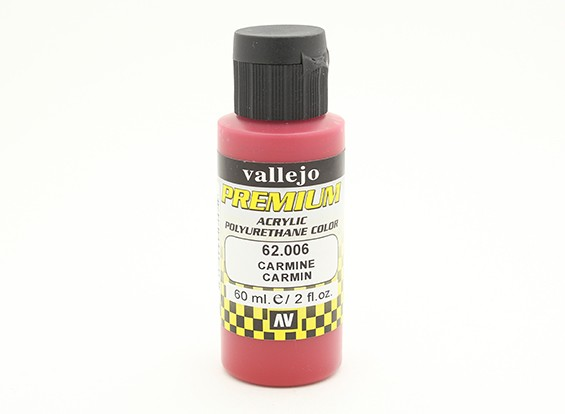 Vallejo Premium Color Acrylverf - Carmine (60ml)