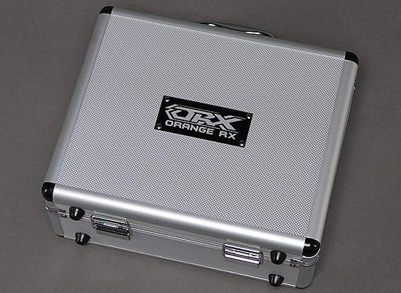 OrangeRX Aluminium Flight Case T-Six 2.4ghz 6ch zender